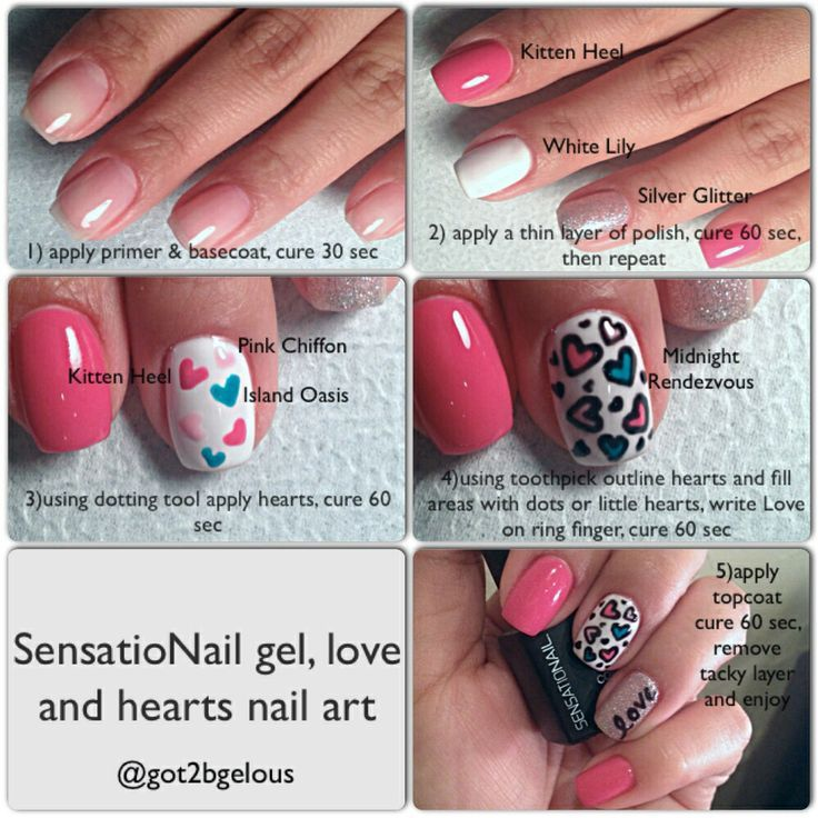 Gel Perfect Nail Polish Instructions Hession Hairdressing