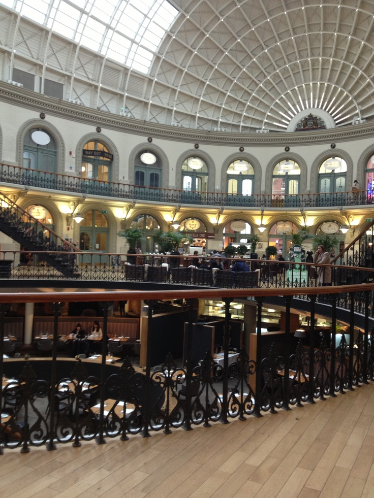Leeds corn exchange, cute little cluster of indie shops in a city with lots to do and see. :)