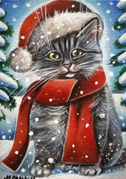 548 Best Cats Paintings Art Images On Pinterest