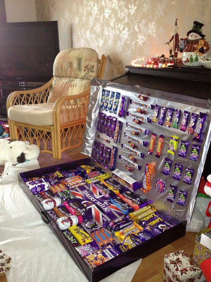 Dads homemade selection box :)