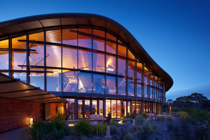 Saffire Freycinet luxury lodge in Tasmania shot by David Mitchener.