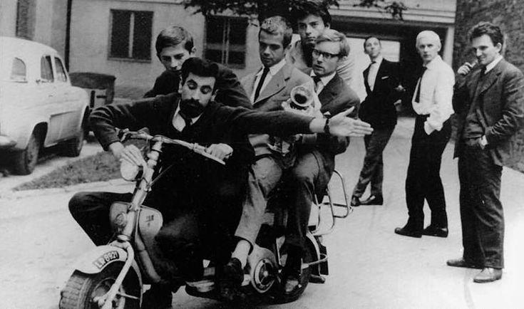 Niewinni czarodzieje/ 1960/ reż. Andrzej Wajda/ FilmPolski.pl - galeria - Tadeusz Łomnicki