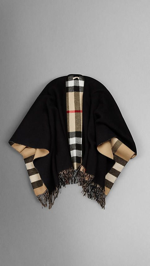 Bring out your inner superwoman - she's fabulous!  Burberry cape