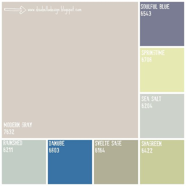 Whole house interior paint color schemes - Whole house interior paint palette ...