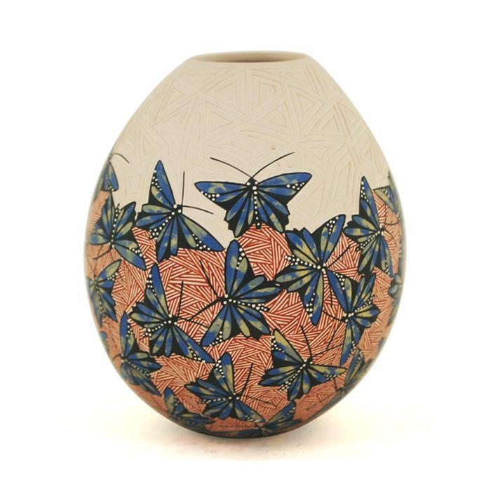 Cindy Perez: Blue Butterflies | Sandia Folk