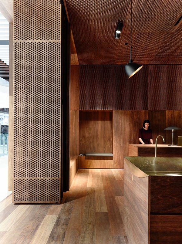This retail lighting collaboration by .PSLAB and Aesop Emporium is a nice warm, almost cozy destination. The store is in Melbourne