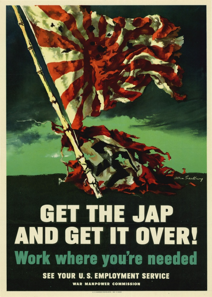 United States. War Manpower Commission, 1945: Get the Jap and get it over! Work where you're needed.