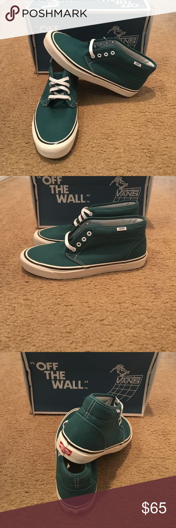 Vans 50th Chukka Boot 49A Reissue New in box. Stv/teal Vans Shoes Sneakers
