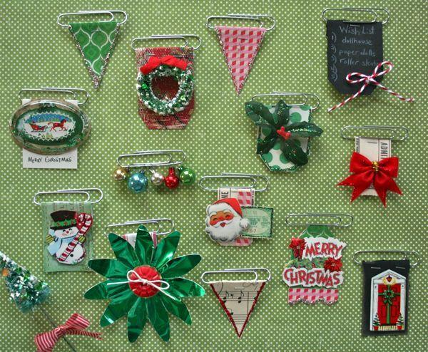 Holiday Decorative Clip Embellishments | Vintage Street Blog | Bloglovin'