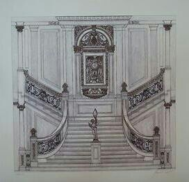 Titanic grand staircase floor plan thefloors co for Grand staircase floor plans