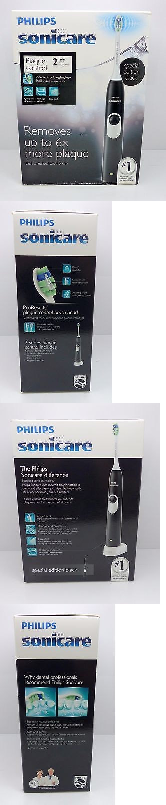 Electric Toothbrushes: Philips Sonicare Series 2 Hx6211 07 Plaque Control Rechargeable Toothbrush. -> BUY IT NOW ONLY: $34 on eBay!