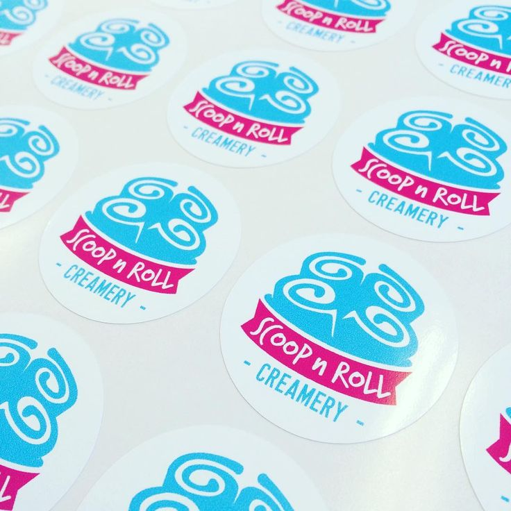 New logo custom stickers www stickerbeaver ca localbrand buylocal icecreamlife weloveicecream supportlocal yeg alberta edmonton stickerbeaver