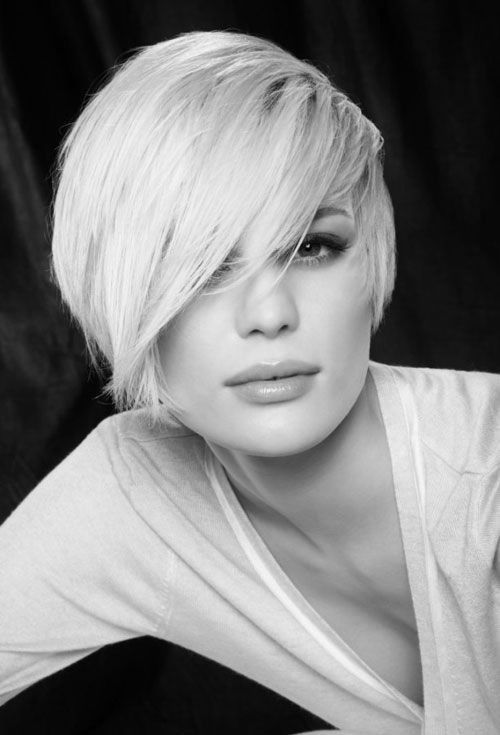 Hairstyles For Short Hair Long : 613 best short hair images on pinterest