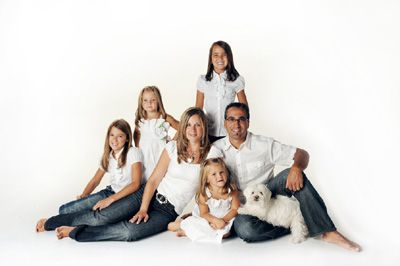 Top Five Poses For Family Portraits