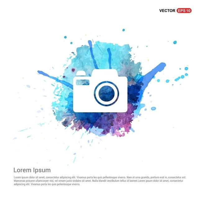 Camera Icon Watercolor Background Camera Clipart Camera Icons Background Icons Png And Vector With Transparent Background For Free Download Camera Icon Watercolor Background Instagram Logo
