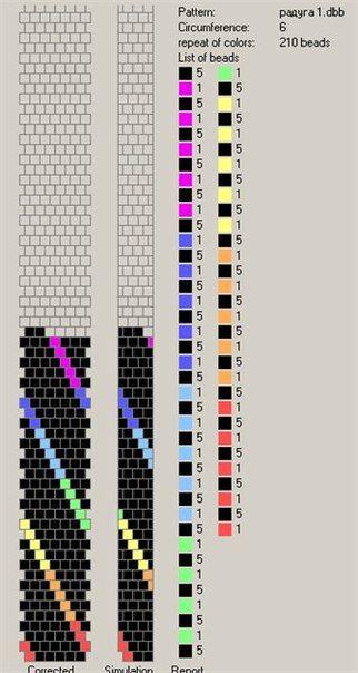 Схемы на 5-6 бисерин