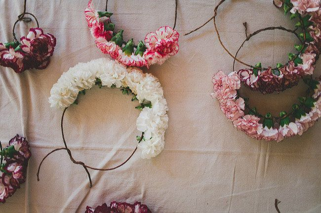 flower crowns for your maids