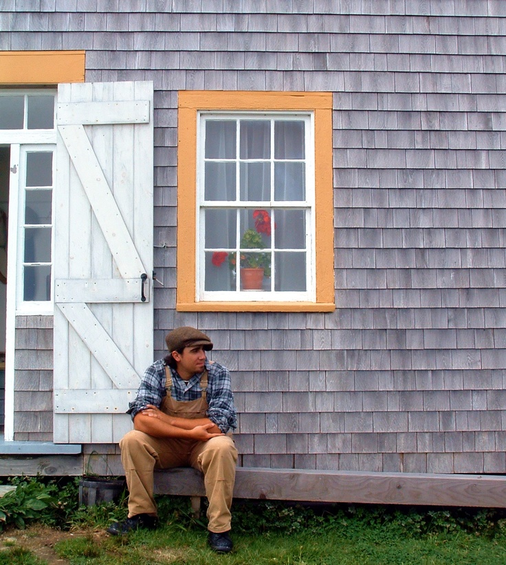 Situated on a beautiful 17-acre site overlooking Pubnico harbour, Le Village historique acadien de la Nouvelle-Écosse (Historical Acadian Village of Nova Scotia) invites you to step back in time and discover the heart, life and work of the Acadians in the early 1900s. Image By Rediscovering Canada.
