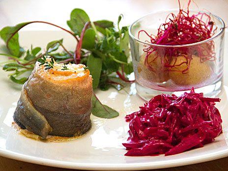 Västerbottenfylld Rödingtournedos | Recept.nu