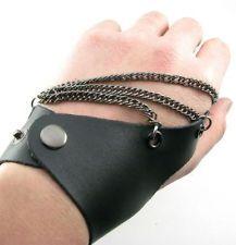 Fingerless Leather Gloves | eBay