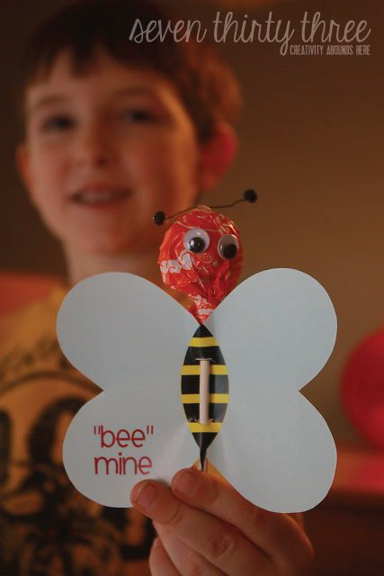 "seven thirty three - - - a creative blog: ""Bee"" Mine - Free Printable Valentine"