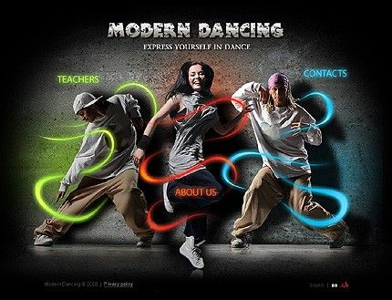 Modern Dancing Flash Templates by Delta