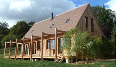 Maison bois sur mesure en Ile de France Sud