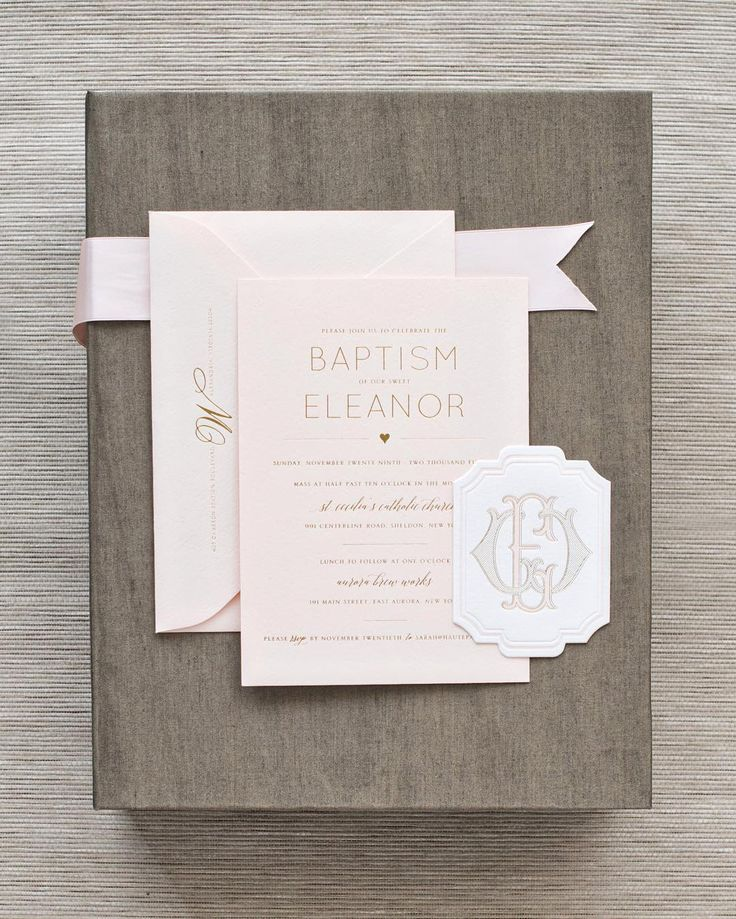 Baptism Invite | Haute Papier