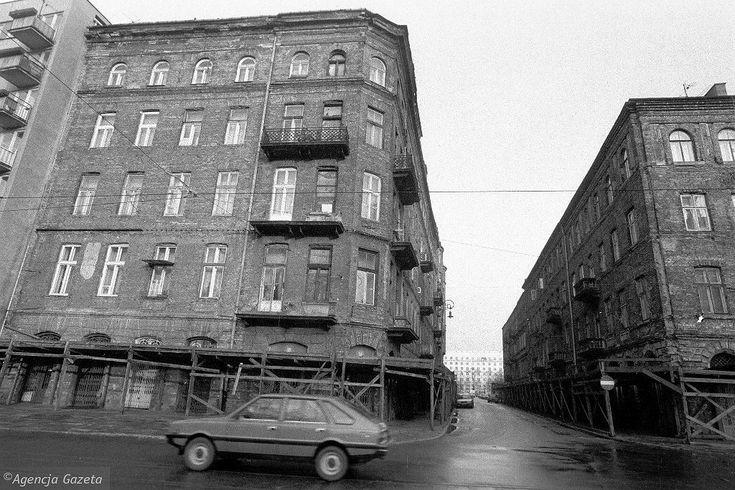 Ulica Próżna w 1990 roku
