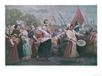 The Women's March on Versailles   #NMrevolution