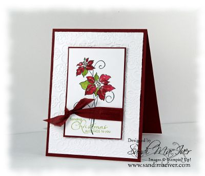 Christmas Blessings by sandi maciver ***** Introduced in the June 2012 - May 2013 catalog. -- Ret May 2013