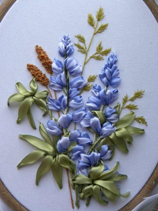 Best ribbon work images on pinterest