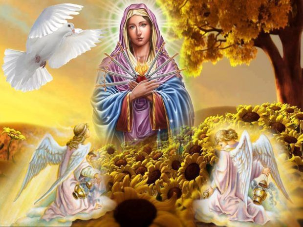 Madre de Dios líbranos del sufrimiento y del dolor