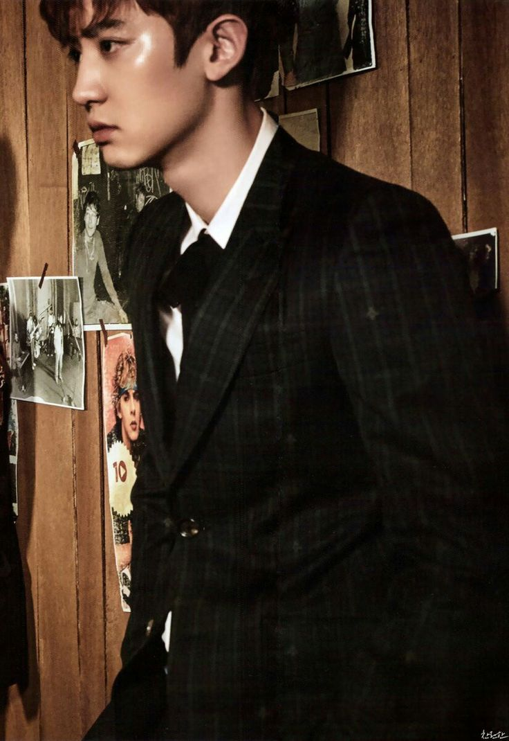Chanyeol Vogue Korea 2017