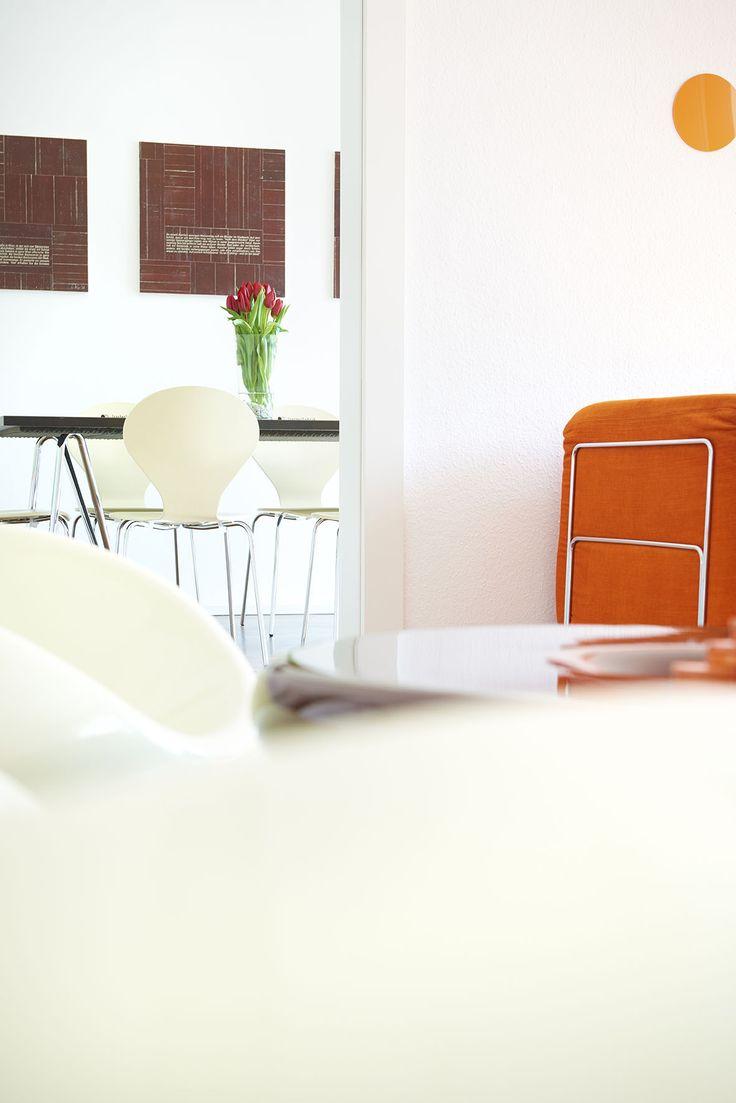 werbeagentur, [raster]fabrik gmbh, style, orange, besprechungsraum, einblick agentur