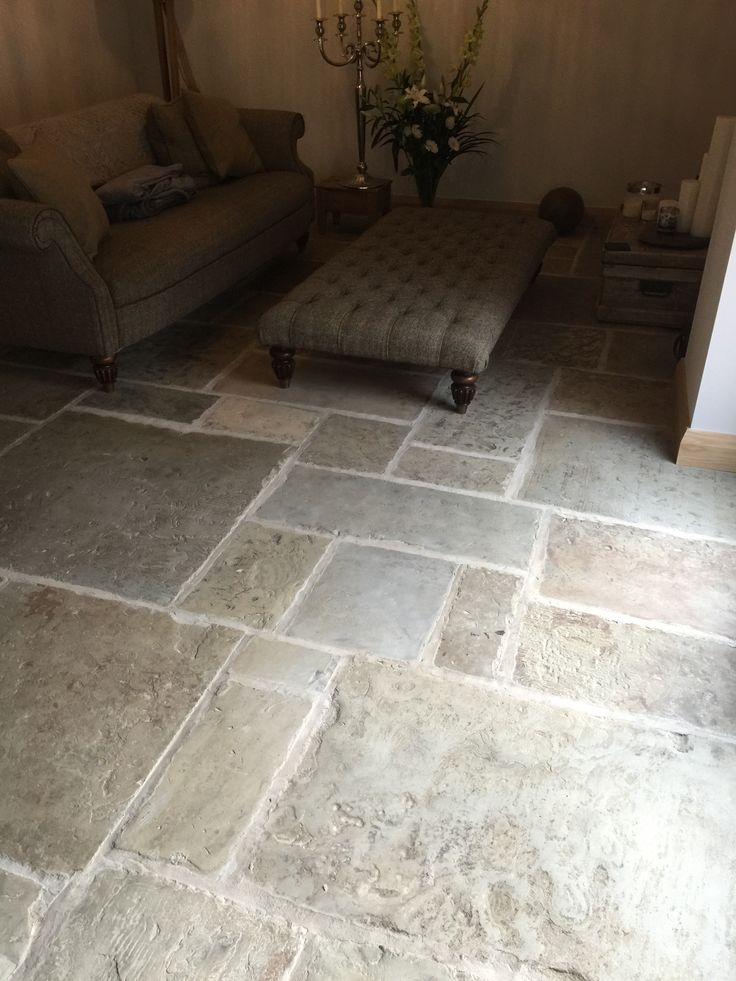 Reclaimed antique York stone flooring selected and refined for inside projects. Genuine material cut to 30 mm for interior use with underfloor heating.  http://www.naturalstoneconsulting.co.uk/reclaimed-york-stone-flooring