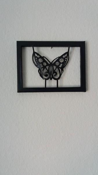 Fresh Leinwand fliegender Schmetterling