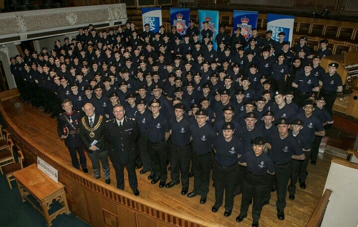 This week saw this year's intake of Greater Manchester Police Volunteer Cadets finish their training and attend a passing out parade in Bolton.  Chief Constable Ian Hopkins welcomed the new cadets to the force and presented them with their certificates. www.gmp.police.uk