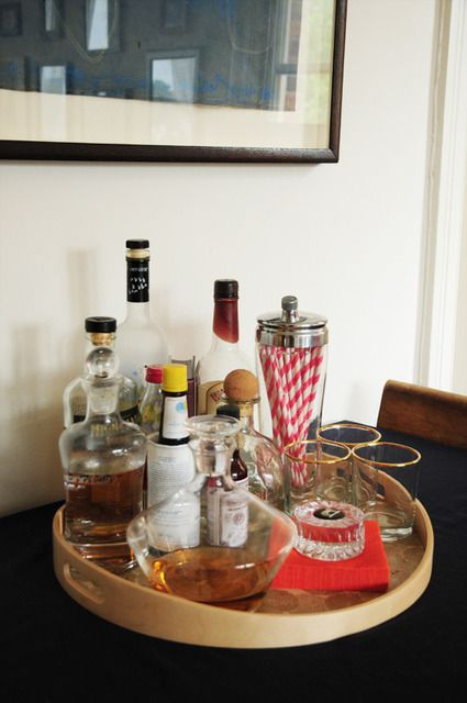 Table top bars: House Tours, Idea, Julie S Artful, Apartment Therapy, Bar Cart, Homes, Apartments, D C