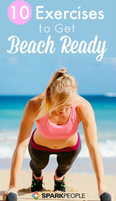 Change up your routine and get in shape for summer with the Bikini Workout! via @SparkPeople