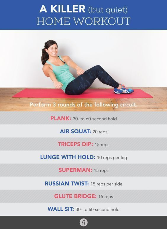 The Quiet Workout A Home Routine