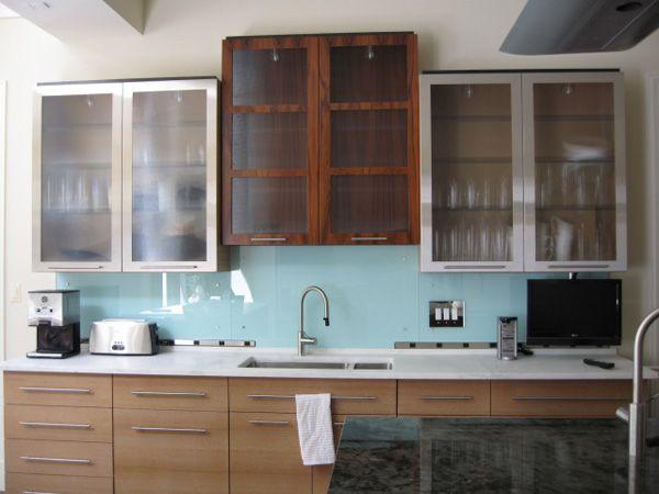 Modern Kitchen Glass Backsplash 43 best kitchen glass backsplash inspiration images on pinterest