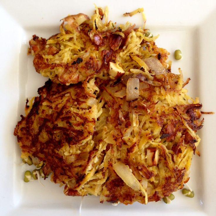 » Turnip Latkes or Pancakes Recipe
