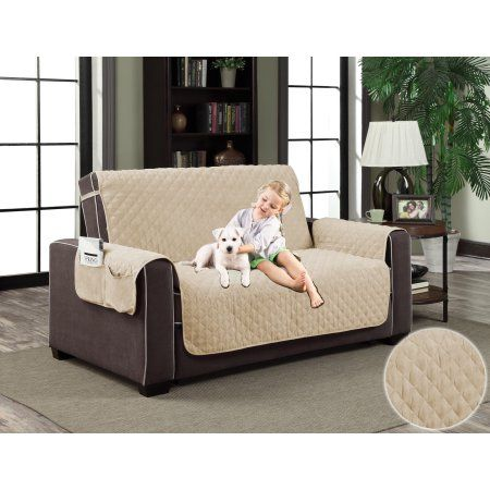 Free Shipping. Buy Pocket Micro-Suede Slipcover Pet Dog Cat Furniture Couch Cover Protector at Walmart.com