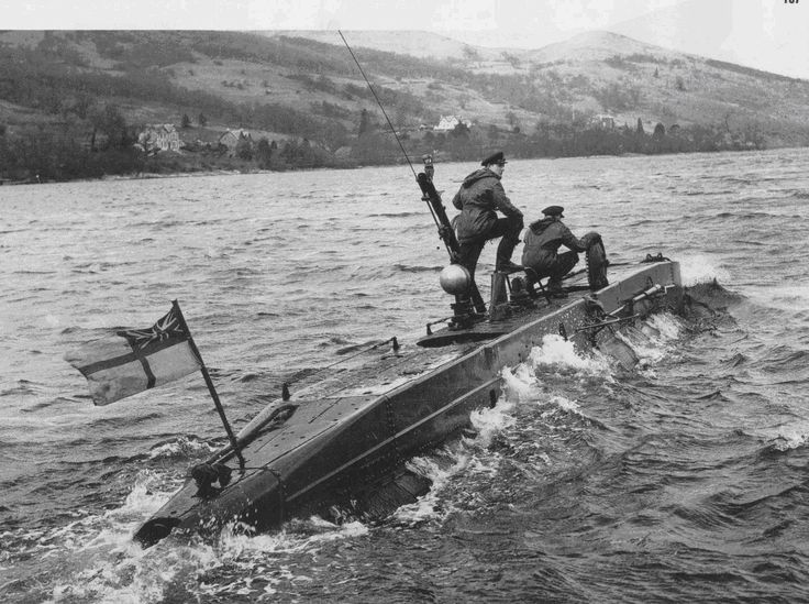 Midget submarines kentmere cumbria 1943