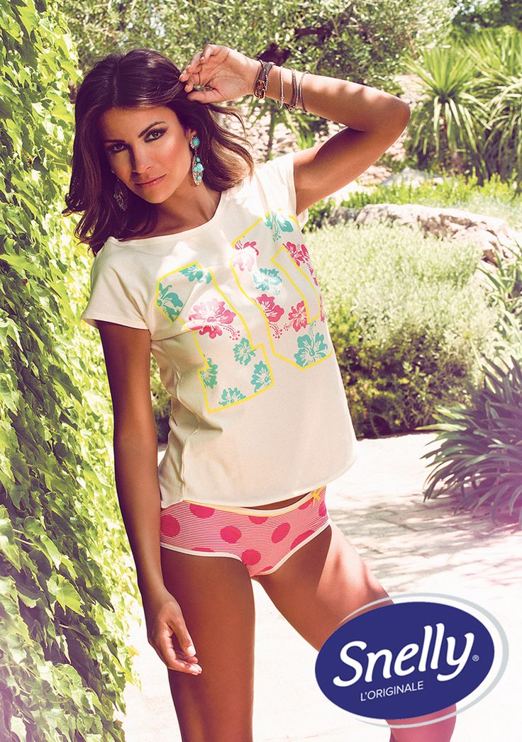 #Ten Snelly Intimo #Spring #Summer Collection with Alessia Ventura.