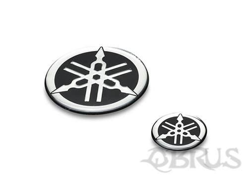 Yamaha Tuning Fork Badge High quality resin badge that features our Tuning Fork logo. Adhesive backing In three size options - Small Ø 2.5cm, Medium Ø 4cm, Large Ø 6cm £7.70 inc vat each . All available to order from QBRUS 01621 893227