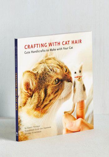 Crafting With Cat Hair | Mod Retro Vintage Books | ModCloth.com