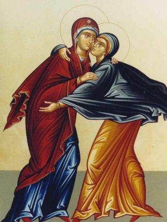 The Meeting of the Theotokos and St. Elizabeth
