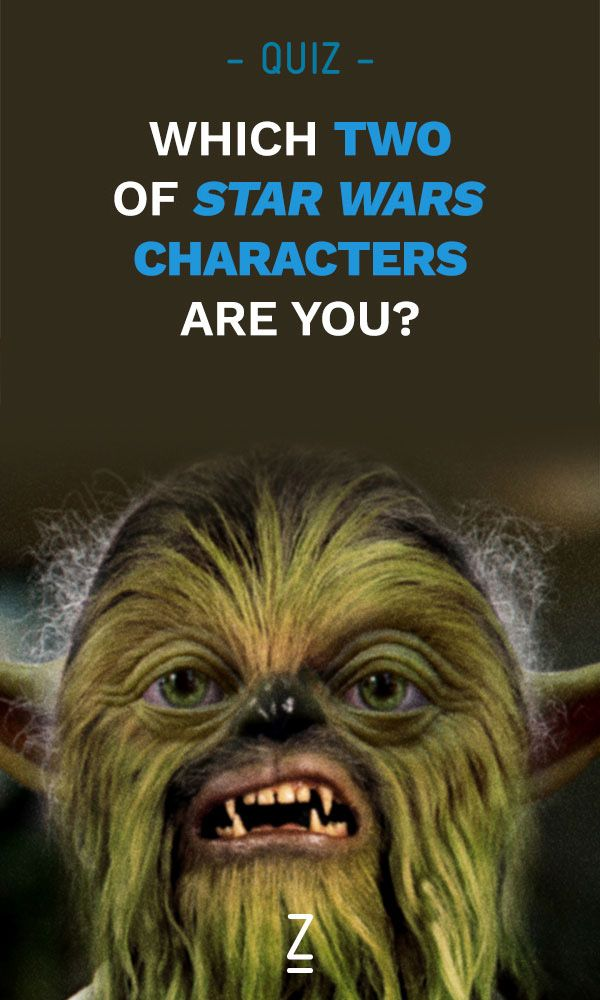 Which two Star Wars characters make up your personality? Find out with our Star Wars combo character quiz!
